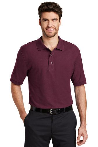 Short Sleeve Silk Touch Polo Shirt