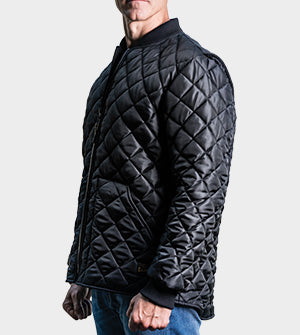 Icon Quilted Chore Coat | Black or Navy