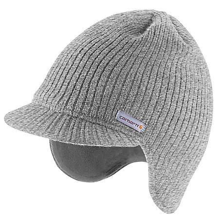 Carhartt Fleece Lined Visor Knit Cap