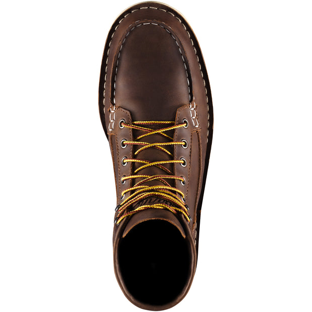 Bull Run 6 Inch Moc Soft Toe Brown