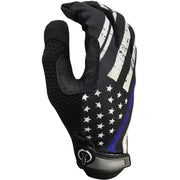 Industrious Handwear Blue Line Flag Full Finger Gloves