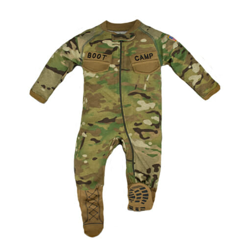 Multicam Boot Camp Baby Crawler