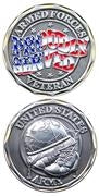 Proudly Served Army Challenge Coin