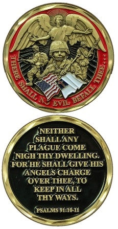 Soldier's Psalm Challenge Coin
