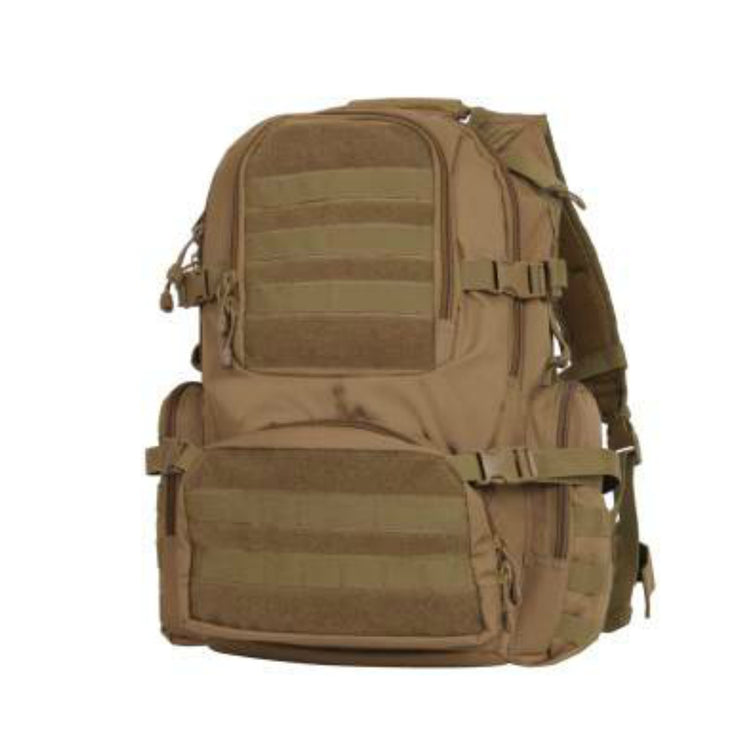 Multi-Chamber MOLLE Assault Pack | Multiple Colors