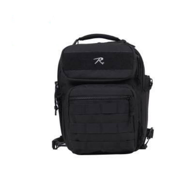 Compact Tactisling Shoulder Bag | Black