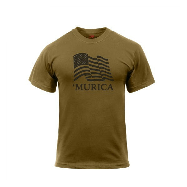 'Murica US Flag T-Shirt