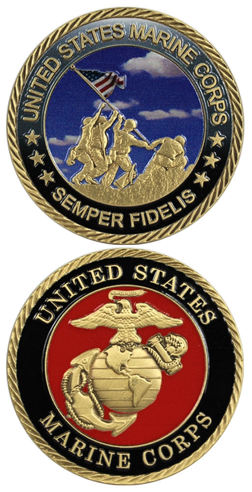 Marine Corp. Challenge Coin