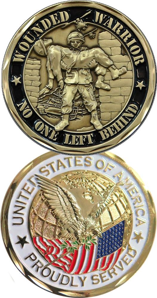 Wounded Warrior Challenge Coin
