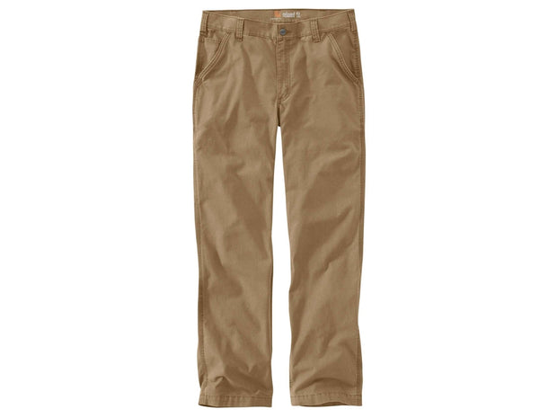 Carhartt Rigby Rugged Flex Straight Leg Work Pant in Dark Khaki