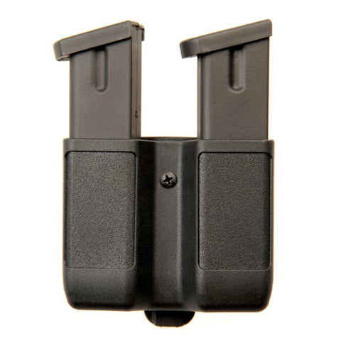 Double Stack Double Mag Case | Black | Matte
