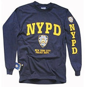 Officially Licensed NYPD Long Sleeve Shirt | Navy