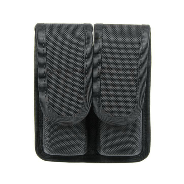 Divided Mag Case Double Row | Closed Top | Nylon | Black
