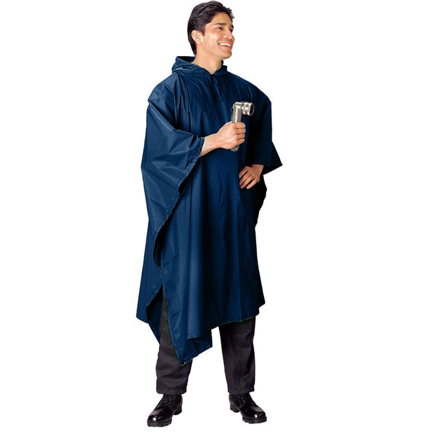 G.I. Type Rip-Stop Poncho | Multiple Colors