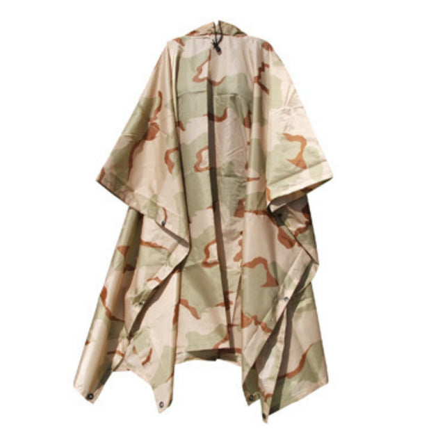 G.I. Type Rip-Stop Poncho | Olive, Black, ACU... & More Colors