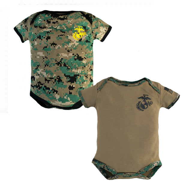 Marine Infant Bodysuit | 2 Pack