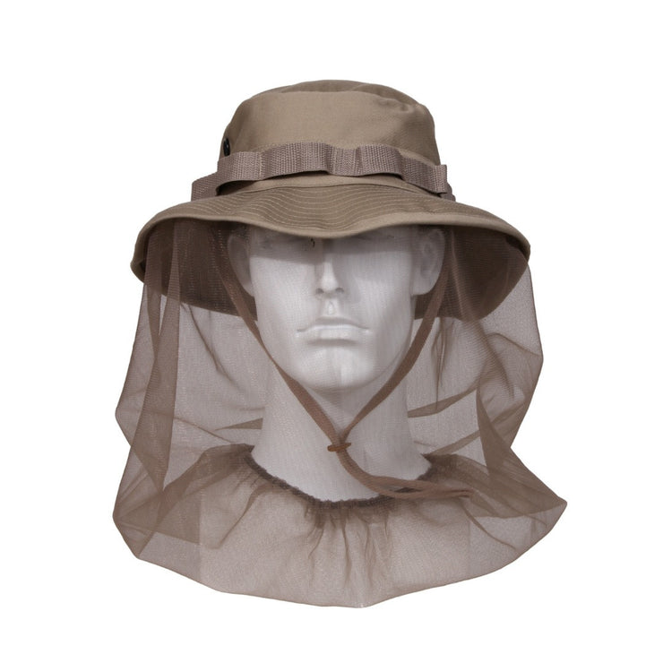 Boonie Hat With Mosquito Netting | 2 Colors