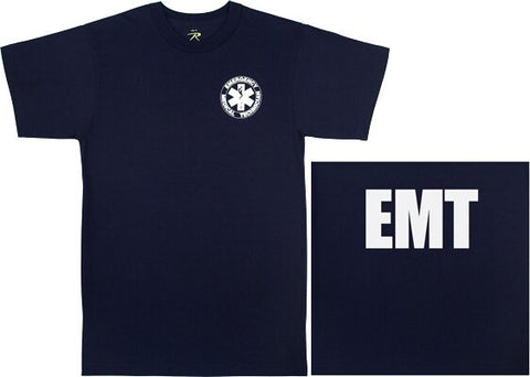 2-Sided EMT T-Shirt | Navy