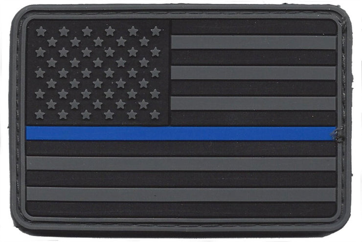 Thin Blue Line Patch Velcro