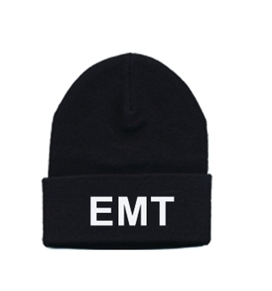 EMT Embroidered Watch Cap
