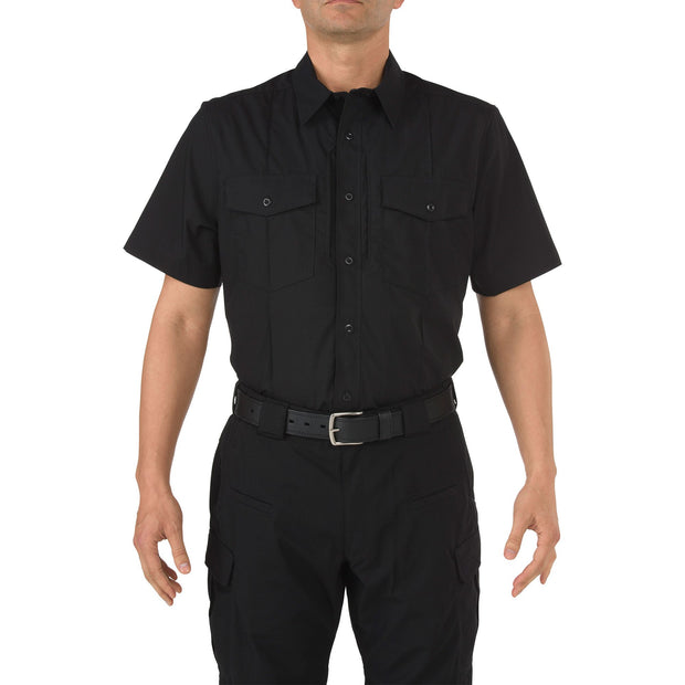 5.11 Men's Stryke Class B PDU Short Sleeve Shirt | NAVY