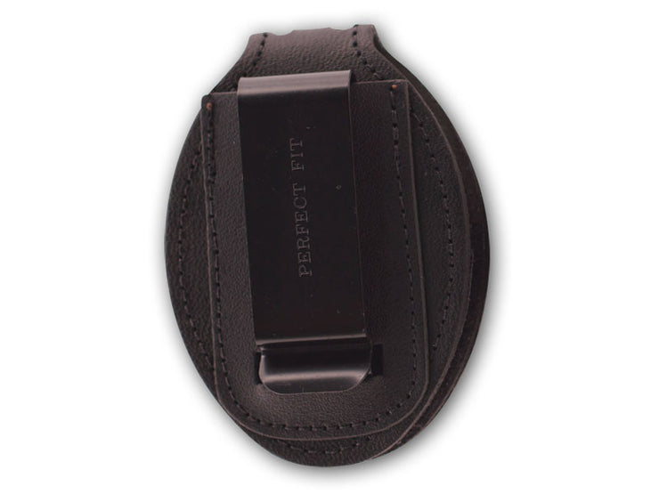 Recessed Belt Clip Badge Holder with Velcro Closure