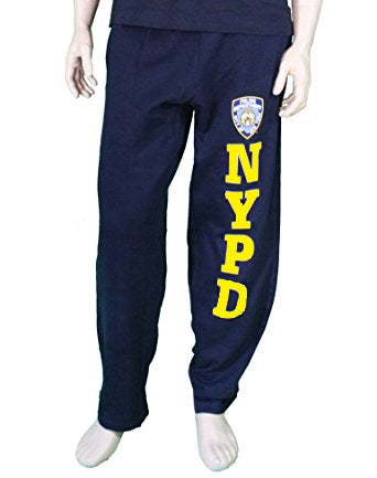 Officially Lisenced NYPD Sweatpant | Navy