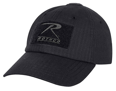 Rip Stop Operator Tactical Cap | Black