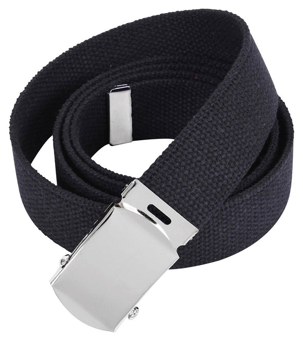Military Cotton Web Belt | One Size (up to 48) | Multiple Colors