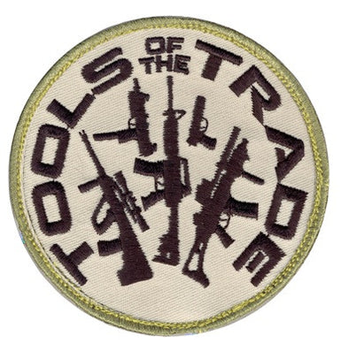 Tools of the Trade Patch Velcro
