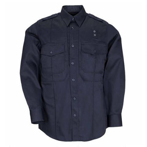 5.11 Taclite PDU Class- B Long Sleeve Shirt | Midnight Navy