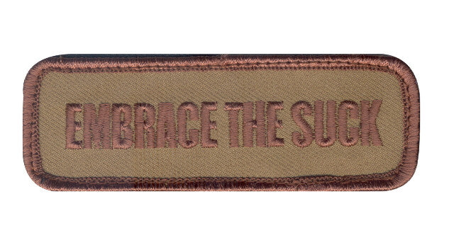 Embrace The Suck Patch Velcro