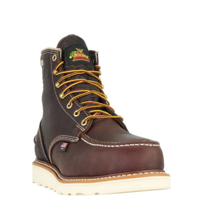 Thorogood 1957 Series – Waterproof – 6″ Briar Pitstop Safety Toe – Moc Toe MAXWear Wedge