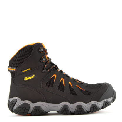 Thorogood CROSSTREX SERIES – WATERPROOF – 6″ BLACK SAFETY TOE HIKER