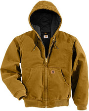 Washed Duck Insulated Active Jacket | Carhartt Brown