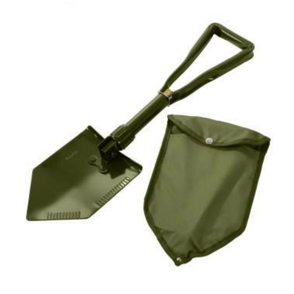 Deluxe Tri-Fold Shovel with Cover
