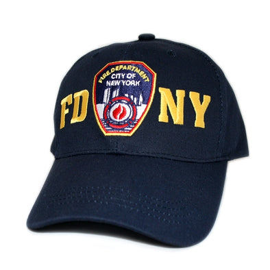 Officially Licensed FDNY Baseball Cap | Black