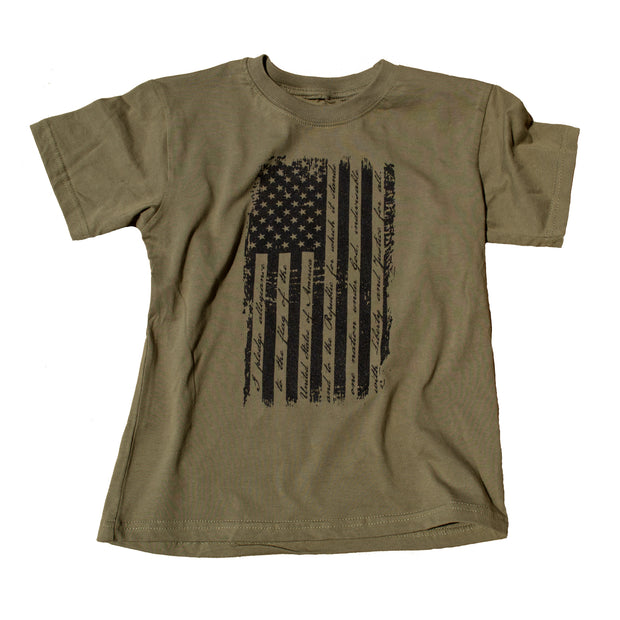 Old Glory Distressed Flag Kids T-Shirt