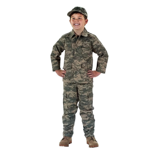 Kids Digital Camo BDU Shirt and Pant - Sold Separately | ACU