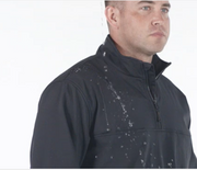 1/4 Zip Soft Shell Job Shirt