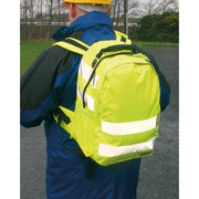 HI Vis Back Pack 25L | HI Vis Yellow