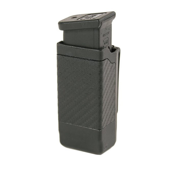 Double Stack Mag Case | Black | Matte