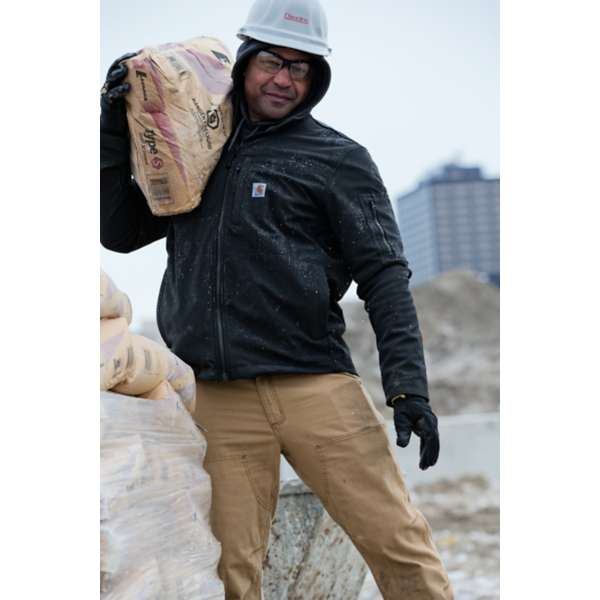 Carhartt Soft Shell Rough Cut Jacket in Black