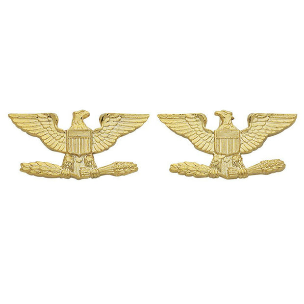 Colonel Insignia | Large | Gold or Silver