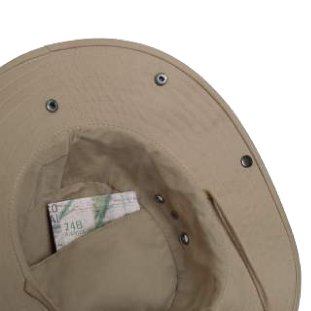 Adjustable Boone hat with Removable neck Cover