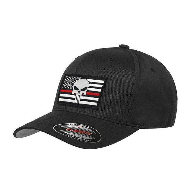 "Thin Red Line ""Punisher Skull"" Hat"