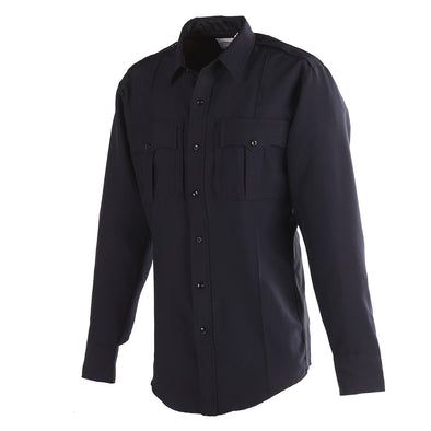 Exclusive NYPD Long Sleeve Power Stretch Shirt w Zipper
