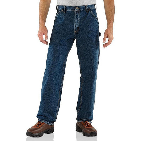 Carhartt Washed Denim Work Carpenter Jeans | Deepstone