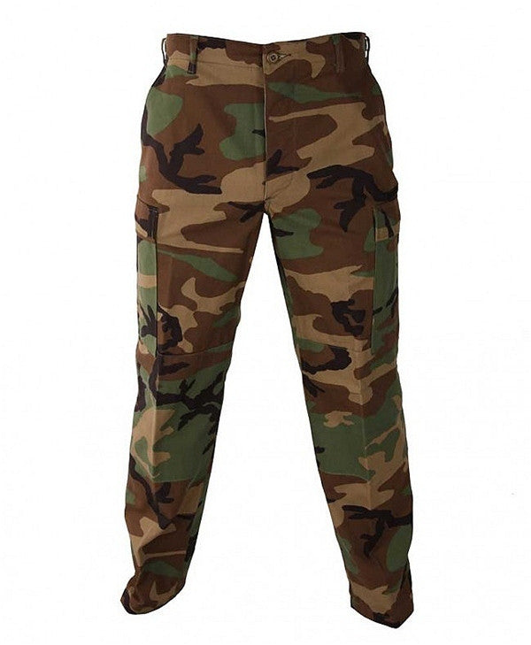 Original Mil-Spec 100% cotton Rip Stop BDU Pant | Woodland