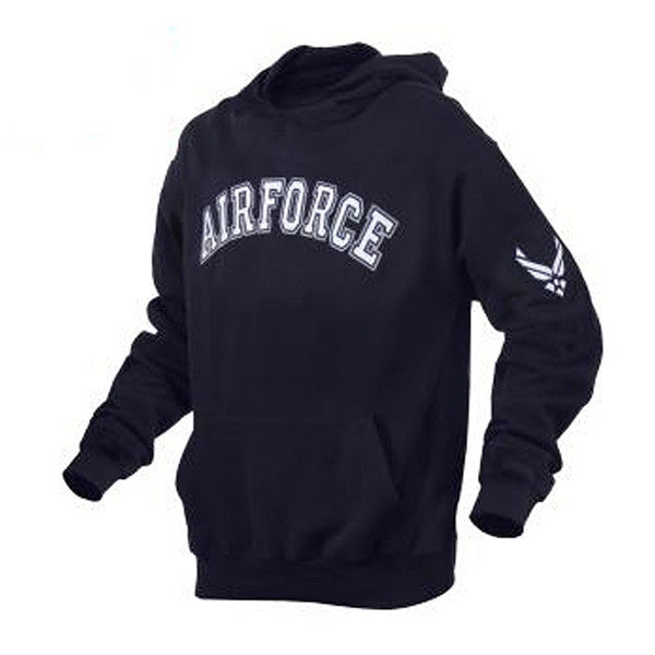 Military Embroidered Pullover Hoodies | Air Force